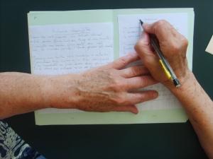 écrire un poème